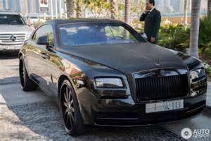 Custom Rolls Royce Wraith Custom Black Rolls Royce Wraith From Saudi The Saudi