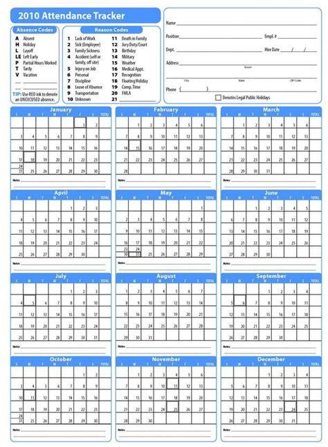 employee attendance calendar attendance sheet attendance sheet template attendance tracker