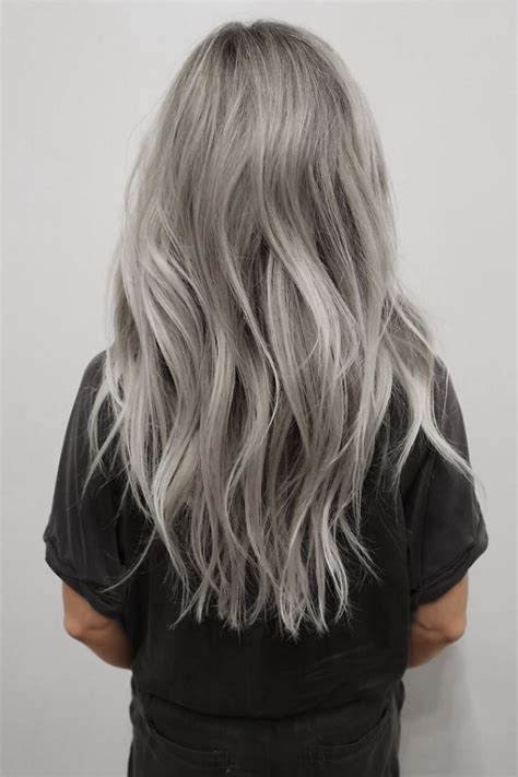 how to color gray hair 1000 ideas about gray hair on silver hair