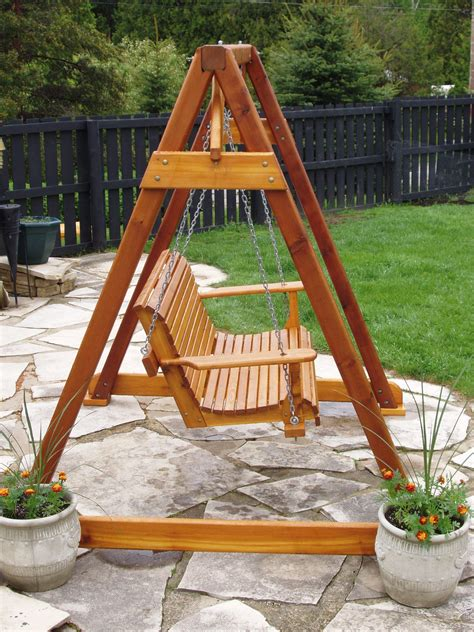 swing set a frame plans build diy how to build a frame porch swing stand pdf plans