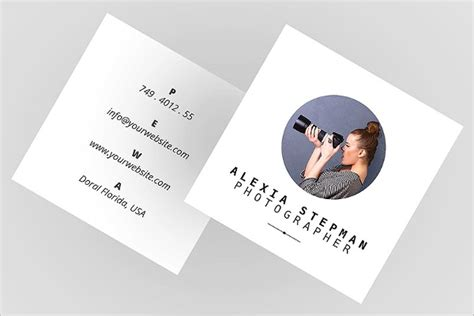 square card template for word 53 square business card templates free psd word designs
