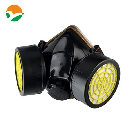 Masker Gas Respirator protective respirator half gas mask with goggles dust
