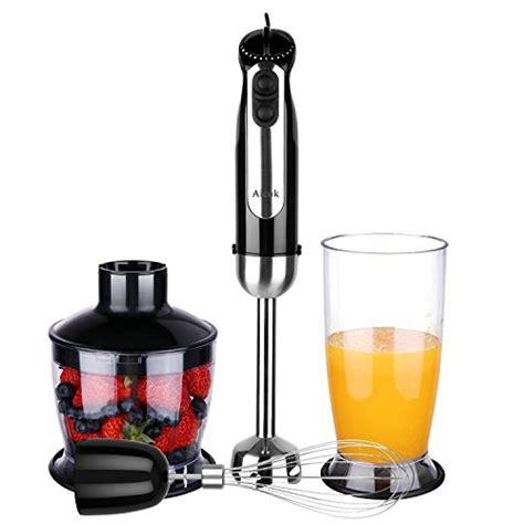 Kitchen Collection Blender Set Aicok Immersion Blender Mixer 5 Speed Smart Stick
