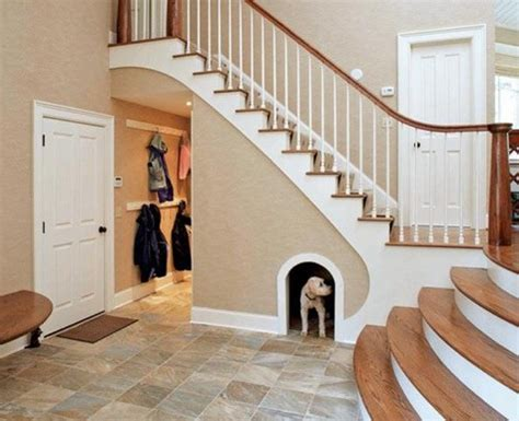 dog house stairs 25 clever under stairs ideas to optimize the leftover space home and gardening