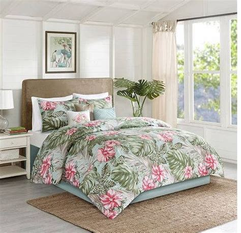 Hawaiian Bed Set Beachcomber Bedding Set The Hawaiian Home