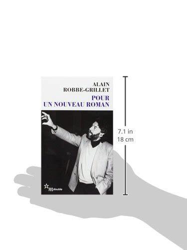 libro pour un nouveau roman di alain robbe grillet
