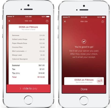 Open Table App by Paying For Meals Just Got Easier With The Opentable App