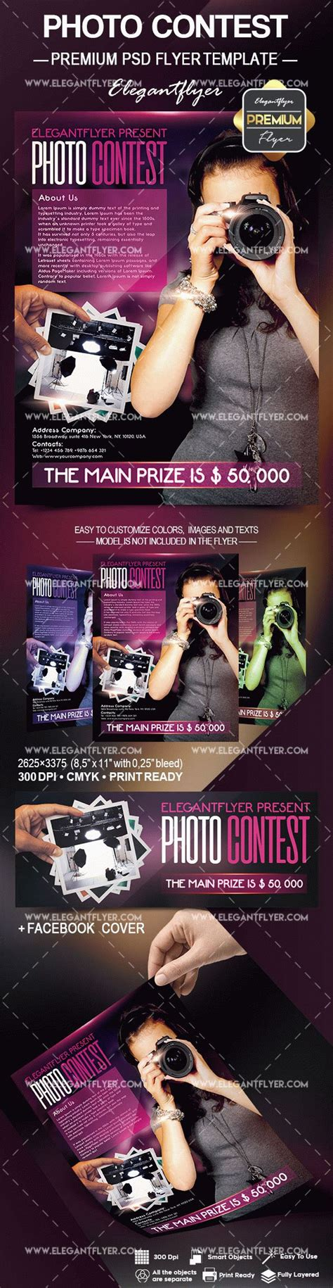 photo contest flyer template photo contest flyer psd template by elegantflyer
