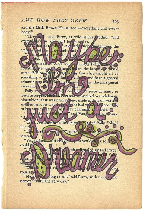picture book lyrics maybe i m just a dreamer beatles lyric quote on vintage
