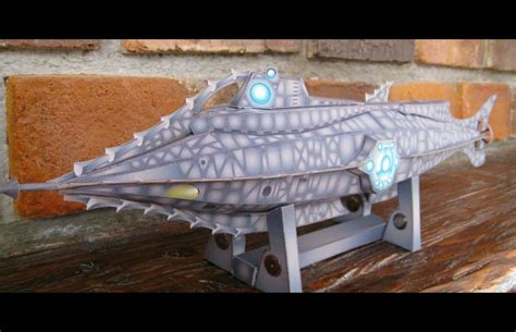 Papercraft Submarine - nautilus submarine papercraft coscomomo