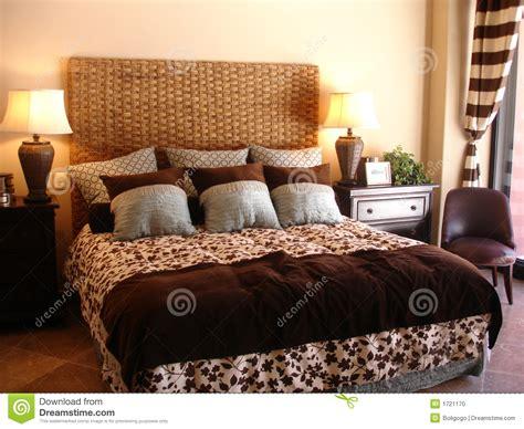fancy bed fancy bedroom stock photo image 1721170