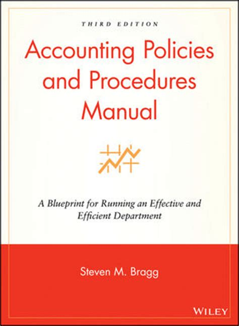 Wiley Accounting Policies And Procedures Manual A Blueprint For Running An Effective And Accounting Policy Manual Template