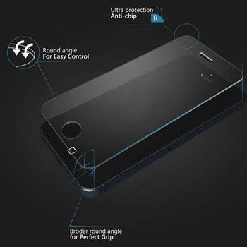 Anti Gores Kaca Tempered Glass 3d Iphone 5s Black 1 jual tempered glass screen protector anti gores kaca tahan benturan iphone 4 4s casebank