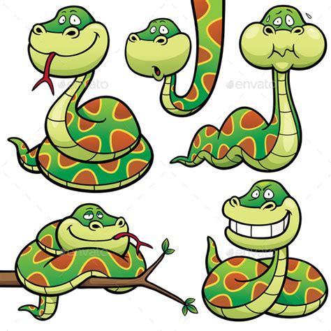 cartoon snake by sararoom graphicriver
