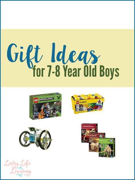 gift ideas for 7 8 year old boys