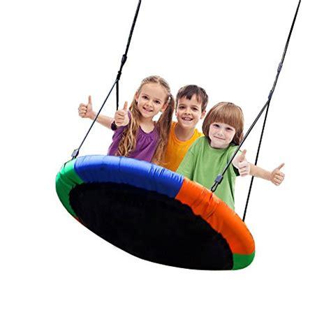 swing diameter blue island tree swing children s large size 40 diameter