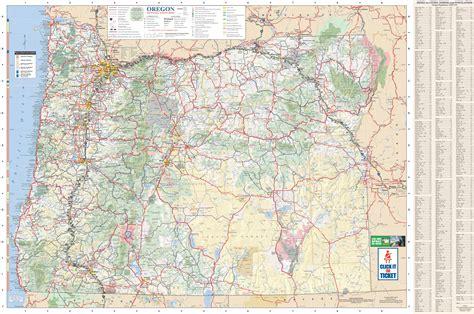 oregon on map maps update 16701145 oregon tourist map large tourist