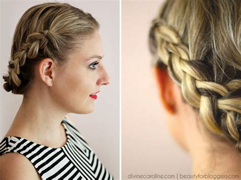 easy hairstyles for short hair how to hairstyle how to easy braids for short hair more com