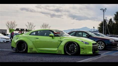 the best nissan gtr best nissan r35 gtr wide liberty walk cars best