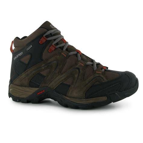 mens salomon walking boots salomon vandon md gtx mens walking boots atlas
