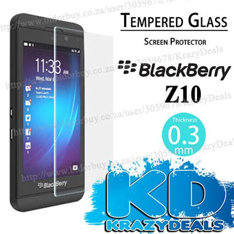 Tempered Glass Blackberry Z10 Screen Protector Antigores screen protectors blackberry z10 tempered glass screen