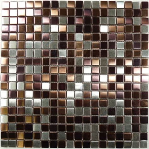 mulberry 1 2 quot x 1 2 quot stainless steel backsplash brushed