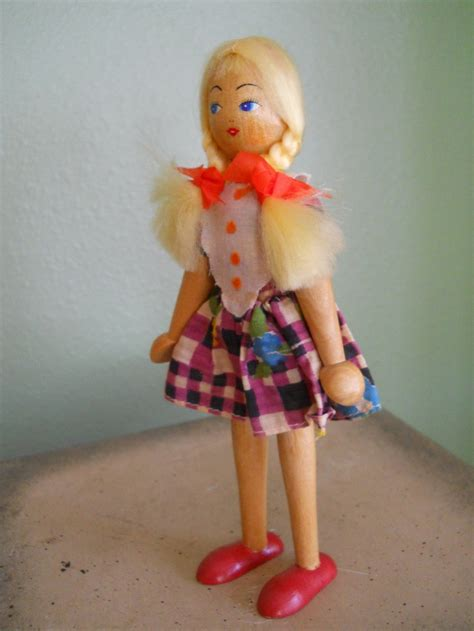 Dolly Top 2854 50 best vintage clothespin dolls wooden dolls images on
