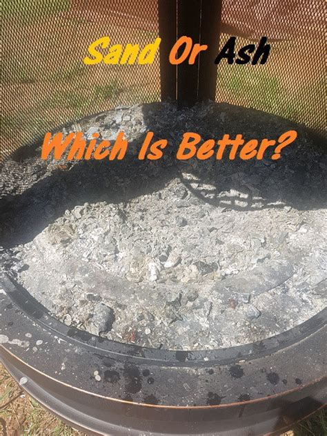 Sand In Bottom Of Pit should i put sand in the bottom of my pit josh imman medium