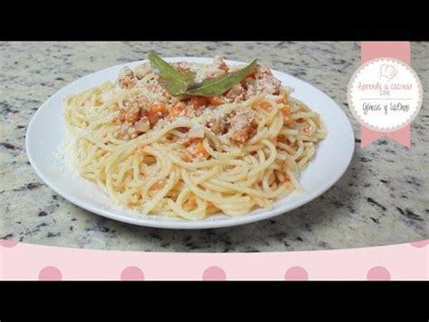 cocinar spaghetti aprende a cocinar spaghetti a la bolognesa
