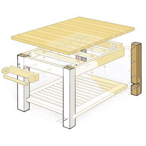 how to build a butcher block island make the legs how to build a butcher block island this