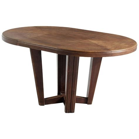 small oval dining table in solid oak for sale at 1stdibs