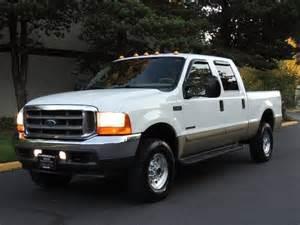 2001 ford f250 diesel mpg