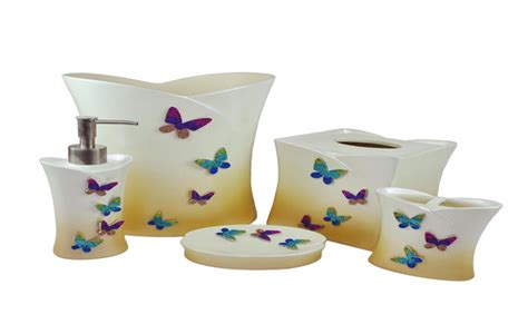 butterfly bathroom butterfly bathroom set get cheap butterfly bathroom accessories butterfly bliss