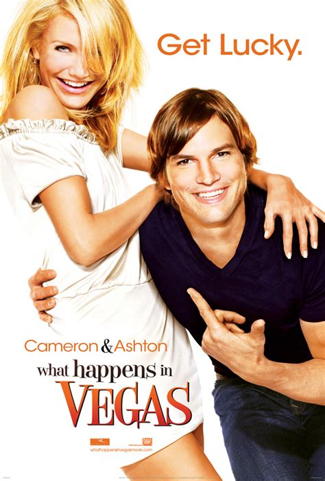 Cameron Diaz Filme by What Happens In Vegas Poster And Trailer With Ashton