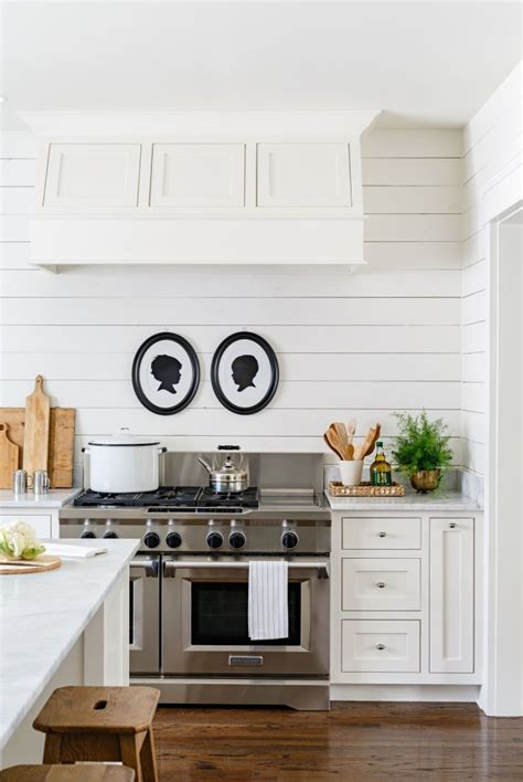 Shiplap Kitchen A Rustic Tennessee Home That Does White Right Modern