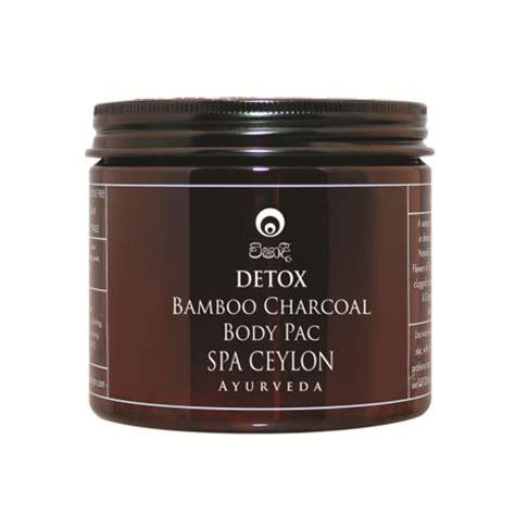 Organic Bamboo Charcoal Clean Detox by Spa Ceylon Detox Bamboo Charcoal Pack