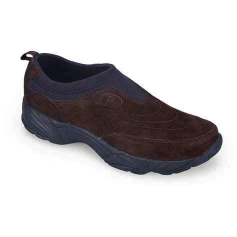 s propet usa inc wash wear slip on ii suede shoes