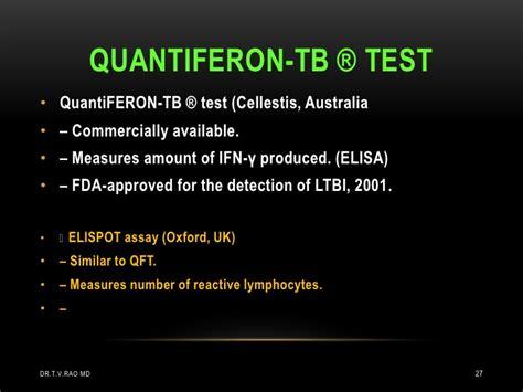 test quantiferon tuberculosis newer diagnostic trends