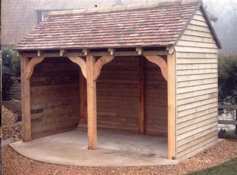 images  firewood storage shed  pinterest