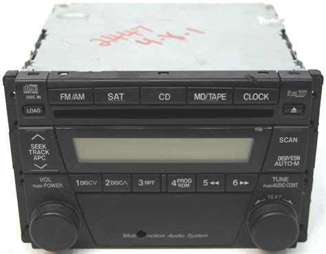 mazda rx8 cd player 2004 mazda rx8 factory stereo 6 disc changer cd player