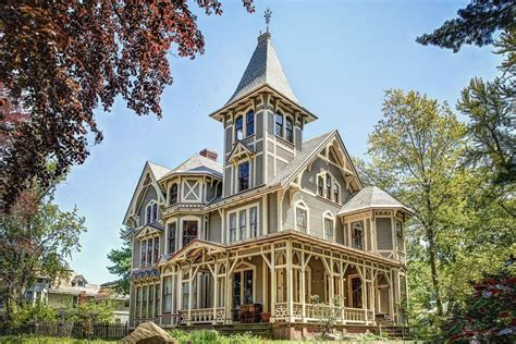 victorian mansions victorian gothic mansion with whimsical secrets asks 525k curbed