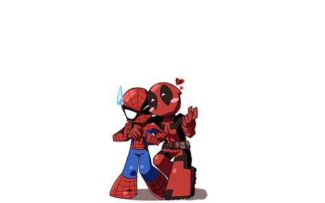 Deadpool The New Mutants Iphone Semua Hp chibi spider and deadpool png