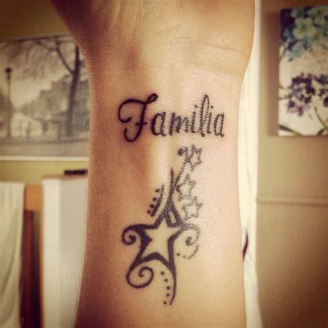 la familia tattoo designs wrist familia wrist