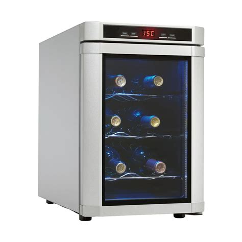 Countertop Wine Refrigerators by Danby Dwc620pl Sc Maitre D 6 Bottle Countertop Wine Cooler