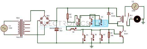 electronic circuits 1 one transistor electronic code lock system circuit diagram