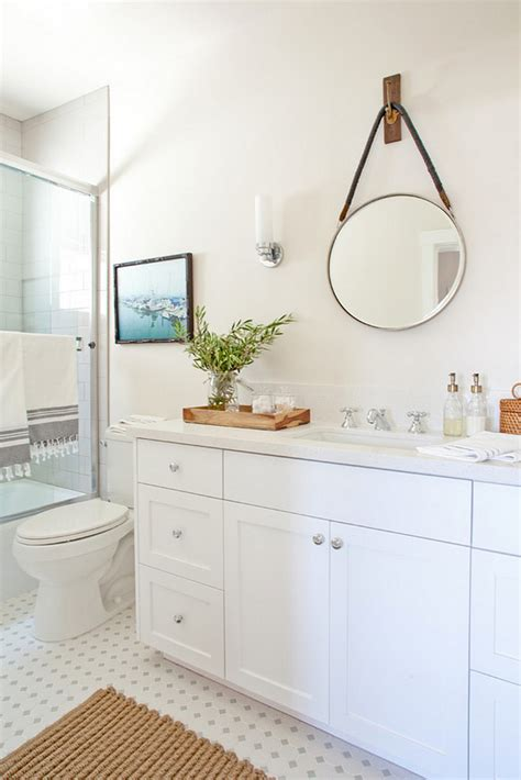 bathroom remodel on a budget ideas neutral modern farmhouse kitchen bathroom home bunch