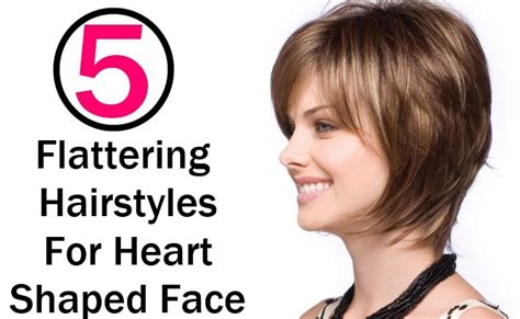everyday hairstyles for heart shaped faces 5 flattering hairstyles for heart shaped face style presso