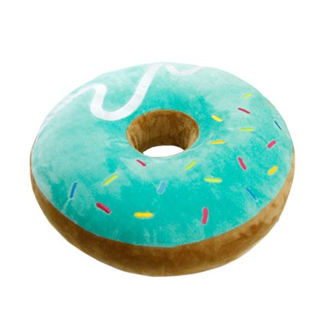 Donut Cusion doughnut cushion plush choco strawberry mint donut cottonfood ebay
