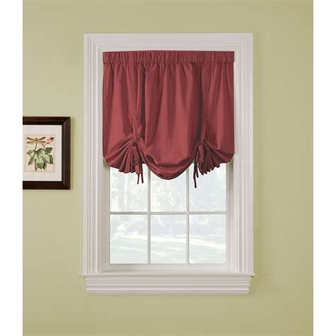 tie up curtains thermatec ridgedale woven pole top pocket tie up blackout