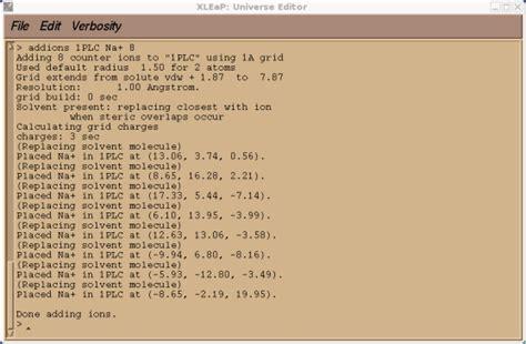 xleap tutorial amber workshop tutorial a1